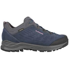 Lowa Explrr GTX Chaussures de trekking basses Femme, navy/lilac